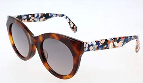 Fendi sonnenbrille ff 0203/f/s 8mv/eu-51-23-140 occhiali da sole, marrone (braun), 51 donna