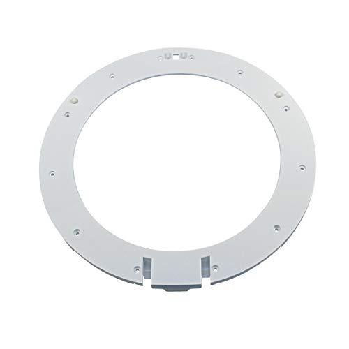 Türring innen Ring Bullauge weiß Kunststoff Waschmaschine Frontlader Original Bosch Siemens 00713937 passend VarioPerfect ecoEdition iSensoric iQ390 iQ300 wae2839 wae283e wae2819 wm14e497fg wm14e48ed (Frontlader-waschmaschine Reiniger)