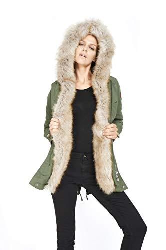f3dea707e39d Dakota - Eskimo Donna Marmot - Parka Cappuccio Ecopelliccia Cappotto  Inverno 2018 Moda Giacca Giubbotto …