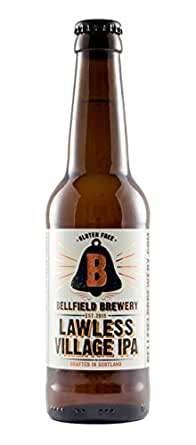 Bellfield Brewery: Lawless Village IPA - (12 x 330ml Bottles) Gluten Free