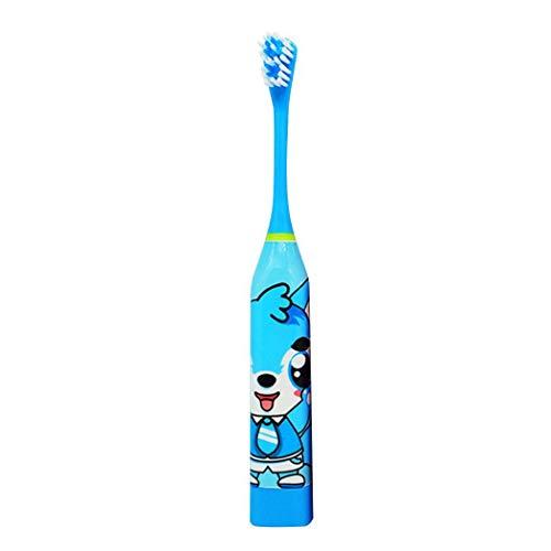 Kuerli Cepillo de Dientes eléctrico Oral Care Baby Sonic con 2 Cabezales...