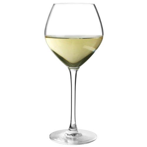 Cepages Grands verres à vin blanc - 350 ml-Lot de 6 verres à vin de dégustation Verre Arcoroc
