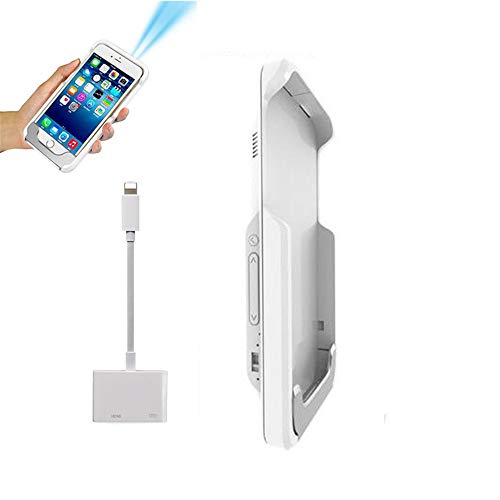Mini Projektor DLP WiFi Portable Tasche LED Smartphone Projektor Pico HD Video 1080 P HDMI Für Ipad iPhone 6 7 8 X Plus,G6withhdmiline
