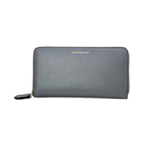 Emporio Armani Zip Around Wallet One Size GREY