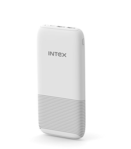 Intex IT-PB12K 12000mAH Lithium Polymer Power Bank (White)