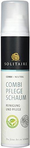 Solitaire Combi Pflege Schaum- Reinigung und Pflege für alle Materialien, 200 ml (Leder-schuh-reiniger)