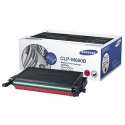 Samsung CLP-M660B/ELS Original Toner (Hohe Reichweite, Kompatibel mit: CLP-610/CLP-660/CLX-6200/6210/6240 Series) magenta