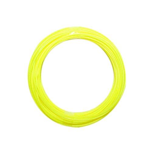 Fulltime® 1,75 mm ABS 3D Print Filament Modellierung Stereoscopic Für 3D-Drucker-Zeichnungs-Feder, 10m, 30g (Gelb)