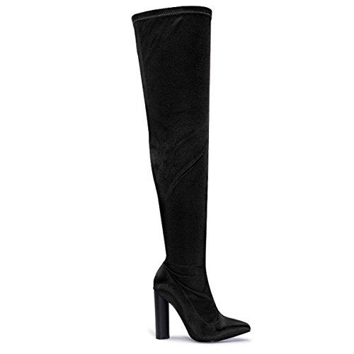 Shoesdays, Damen Stiefel & Stiefeletten  35.5 Schwarz