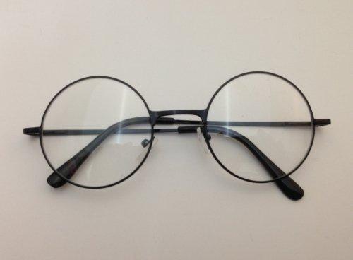 JERAZ T144 Drahtbrille Nerd Streberbrille Brille intellektuell