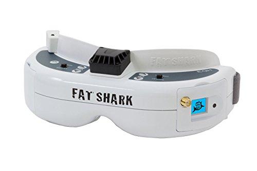 fatshark brille XciteRC 17000340 Fatshark Dominator HD3 FPV-Headset Videobrille mit Akku und 5.8 GHz OLED-Empfängermodul mit Race-Band