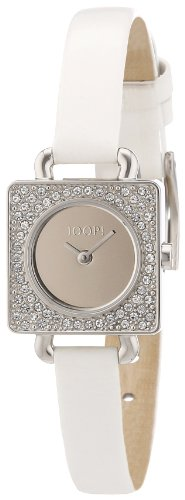 Joop Women's Quartz Watch Neoclassic Square JP100962F03 with Leather Strap