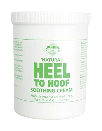 Barrier Heel to Hoof Soothing Cream Skin Supplement 1L White -
