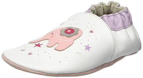 Robeez Baby Mädchen Dreamy Hausschuhe, Weiß (Blanc 3), 27 EU -
