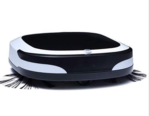 BAIYI Wireless-Vakuum-Summie-Roboter Elektro-Falsenroboter Smart Sweeping Roboter Automatische Saugmaschine für zu Hause Haushalt,Black - Boden Fegen Magnet