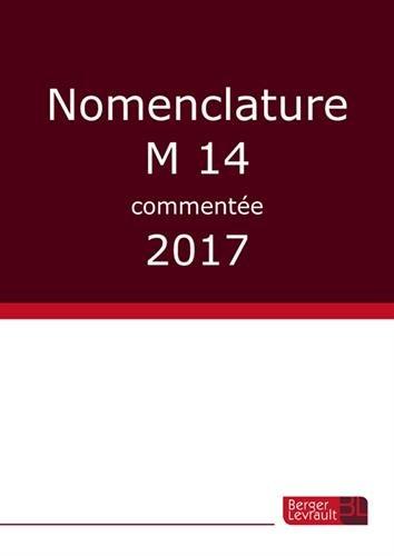 Nomenclature M14 commente