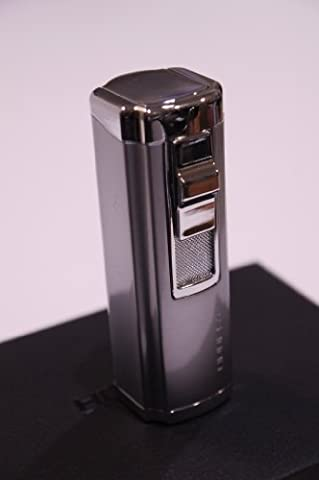 Cigar Lighter with Punch - Crome