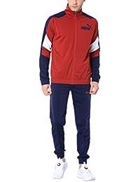 534f9f06a Puma Tuta Tricot Suit Bordeaux-Blu 594842-37 (L - Bordeaux)
