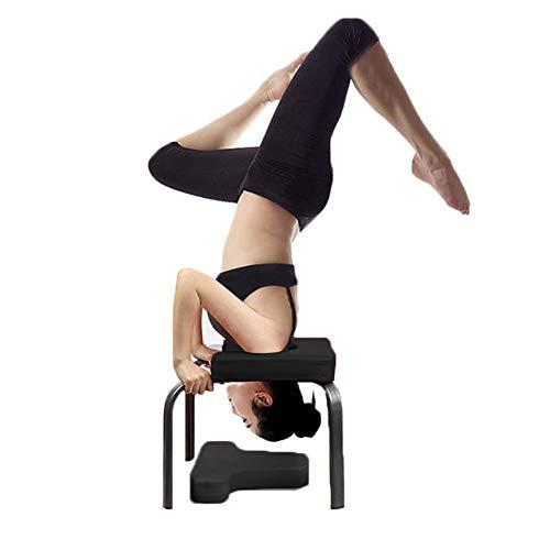 Yunt Banco de reposacabezas de Yoga, Silla de Yoga de pie para la Familia, Gimnasio, Almohadillas de PU, aliviar la Fatiga y Aumentar el Cuerpo
