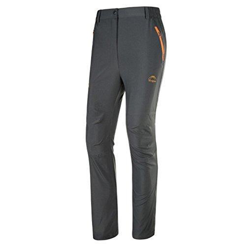 emansmoer Herren Sonnenschutz Anti-UV Leicht Quick Dry Hosen Atmungsaktiv Outdoor Camping