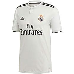 adidas Real Madrid 2018/2019 Camiseta 1ª Equipación, Hombre, Blanco, S