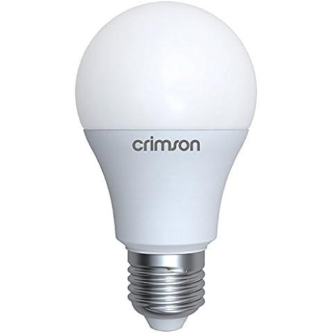 LM® E27, attacco Edison, 10 W, GLS A60 con lampadina, luce bianca calda 3000 K 900 lm sostituisce lampadine a incandescenza da 60-80 W, confezione da 1
