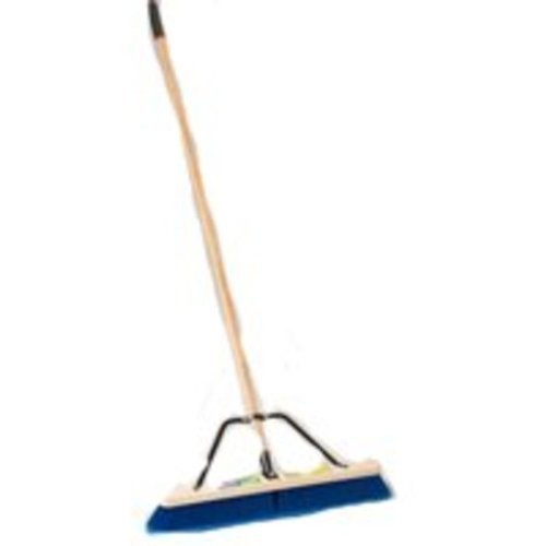 MintCraft Pro 1426AJOR Push Broom with Brace 24-Inch In/Out by Mintcraft (Zoll Push-broom 24)