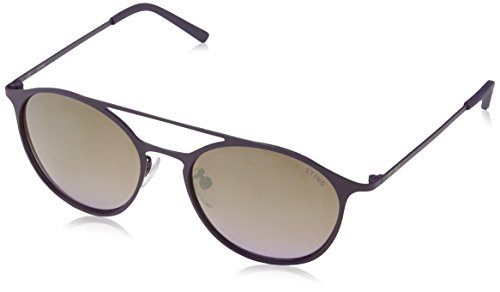 Sting ss4902, occhiali da sole unisex-adulto, multicolore (rubberizzed full violet), etichettalia unica
