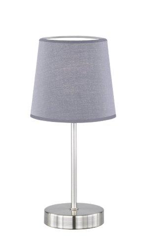 CESENA! Die Tischleuchten dieser Serie sind mit Textilschirmen ausgestattet, die allesamt in trendigen Farben die Lichtwirkung zusätzlich unterstützen. Diese Leuchte besitzt einen Schalter sowie einen Schirm der in verschiedenen Farben wählbar ist.Fe...