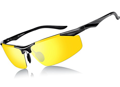 LUFA Sports Unisexe polarisants Sunglass avec 1 objectif interchangeable Windproof cyclisme Sunglass XGKIVKFeW