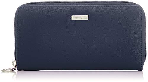 Tamaris Damen Maxima Big Zip Around Wallet Geldbörse, Blau (Navy), 2x10x19.5 cm