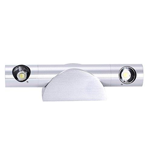 6W 360°drehbare Wandleuchte Wandlampe [Energieklasse A+] (Warmweiß 6W) - 2