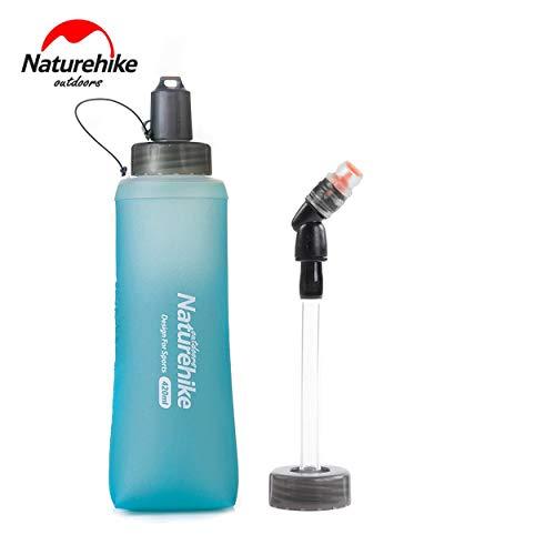 Naturehike Premium Grade Pieghevole Silicone Sport Outdoor Bottiglia di Acqua Bollitore per Gli Sport all\'Aria Aperta Campeggio Escursionismo Ciclismo Picnic