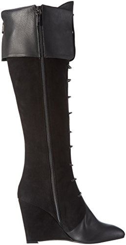 Oxitaly - Rezzia 271, Stivali alti con imbottitura leggera Donna Nero (Nero (Nero))