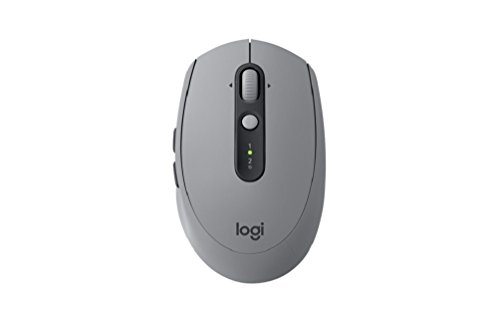Logitech M590 Multi-device Silent Mouse Wireless, Bluetooth e Unifyng, Grigio
