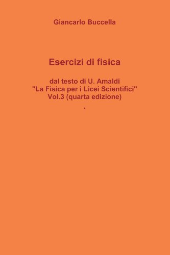 Esercizi Di Fisica, Dal Testo Di Ugo Amaldi