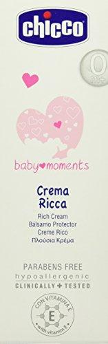 Chicco Baby Momente Reichhaltige Nährcreme mit Vitamin E, 100 ml