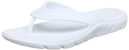 Skechers Womens Beaching-It Thong Sandals, Weiß (W), 39 EU