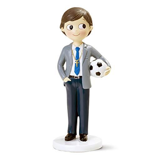 Mopec Kommunionsfigur Junge, 16,5 cm, Blau, 16,5 cm