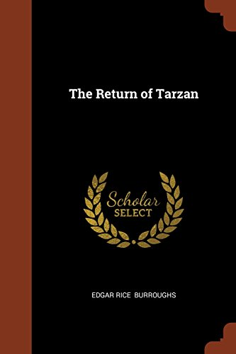 Book cover for The Return of Tarzan