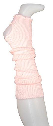 Stulpen 38cm oder 45cm Beinwärmer für Ballett oder Freizeit mit Fersenloch