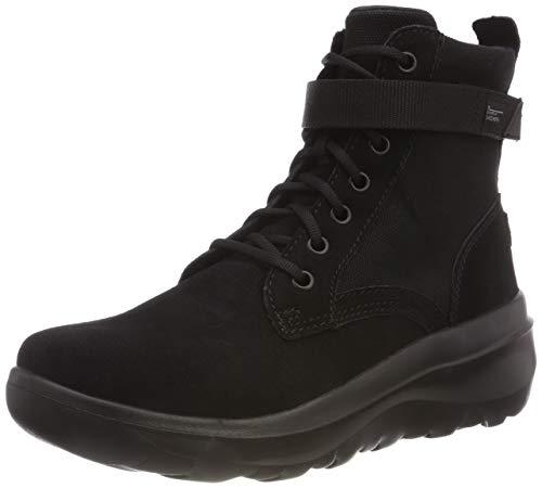 Skechers Damen Skyhigh Ultra Kurzschaft Stiefel, Schwarz (Black BBK), 39 EU (Skechers Schuh Stiefel Frauen)