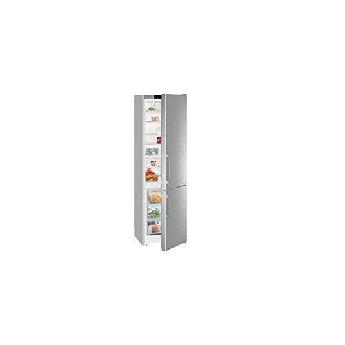 Liebherr CNEF4015 Autonome 356L A++ Argent réfrigérateur-congélateur - Réfrigérateurs-congélateurs (356 L, SN-T, 11 kg/24h, A++, Nouvelle zone compartiment, Argent)