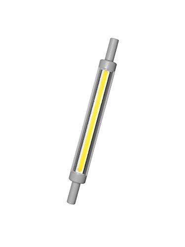 Lampada Led r7s 9W Ultra Slim -  Lumen 850 - Dimensioni: d 12 x 118 mm (base inclusa) Angolo Flusso Luminoso 360° la lampada led r7s che sostituisce le tradizionali alogene Bianco Caldo 3000°K
