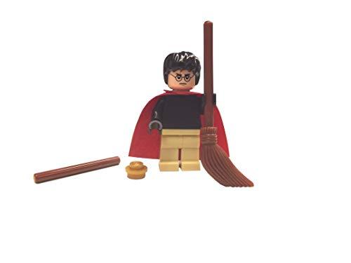 LEGO Harry Potter Quidditch Set mit Besen, Umhang, Schnatz und Zauberstab
