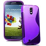 HQ-CLOUD Coque Gel Silicone S-Line Pour Samsung Galaxy S5 Mini G800F G800H / Duos - Violet