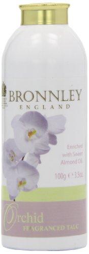Bronnley Talco 100g perfumado con la orquídea