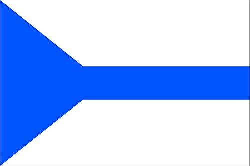 magFlags Drapeau Large Odolena Voda CZ | Municipal Flag of Odolena Voda Town | Drapeau Paysage | 1.35m² | 90x150cm