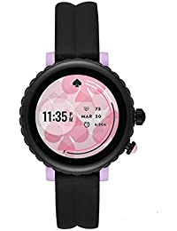 Kate Spade New York - Women's Scallop Smartwatch Powered with Wear OS by Google, Black - KST2017