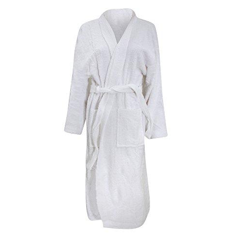 Jassz Kimono Bademantel (3XL/4XL) (Weiß)